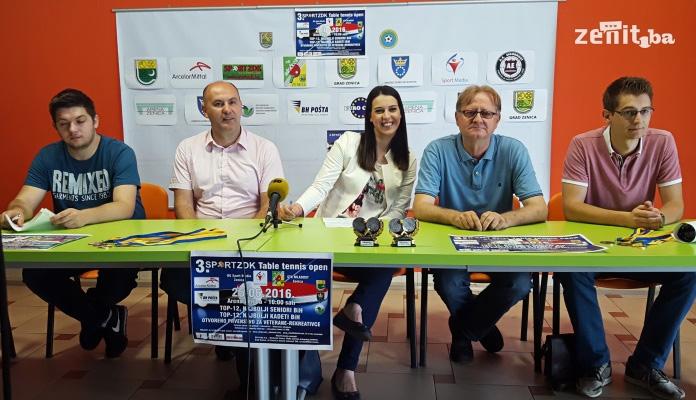 Zenica domaćin najvećeg turnira u stonom tenisu u BiH