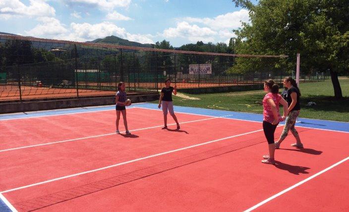 FOTO: Obnovljeni sportski tereni na Kamberovića polju
