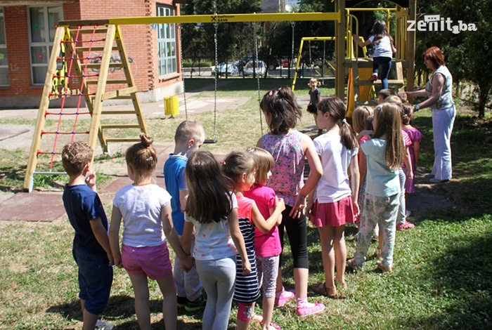 FOTO: Ljetni program za mališane zeničkih vrtića