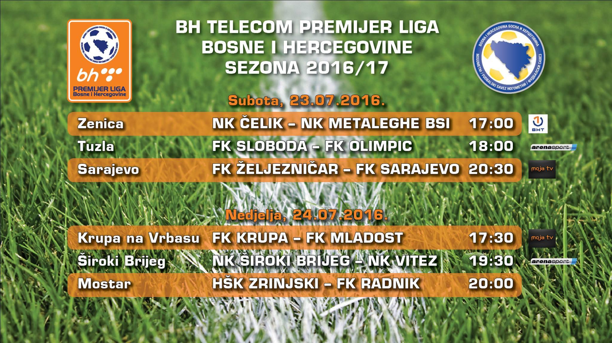 Ovog vikenda počinje nova sezona BH Telecom Premijer lige