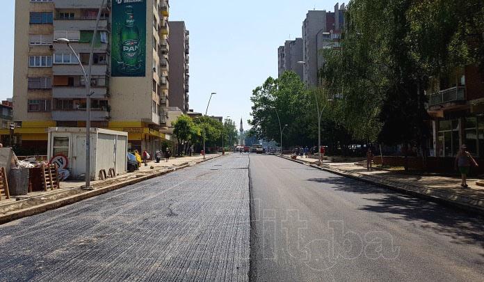 FOTO: Počelo asfaltiranje ulice Londža i izgradnja kružnog toka