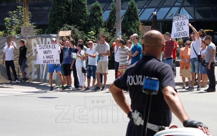 """VIDEO+FOTO: Protestna šetnja """"Pravda za Senida"""""""