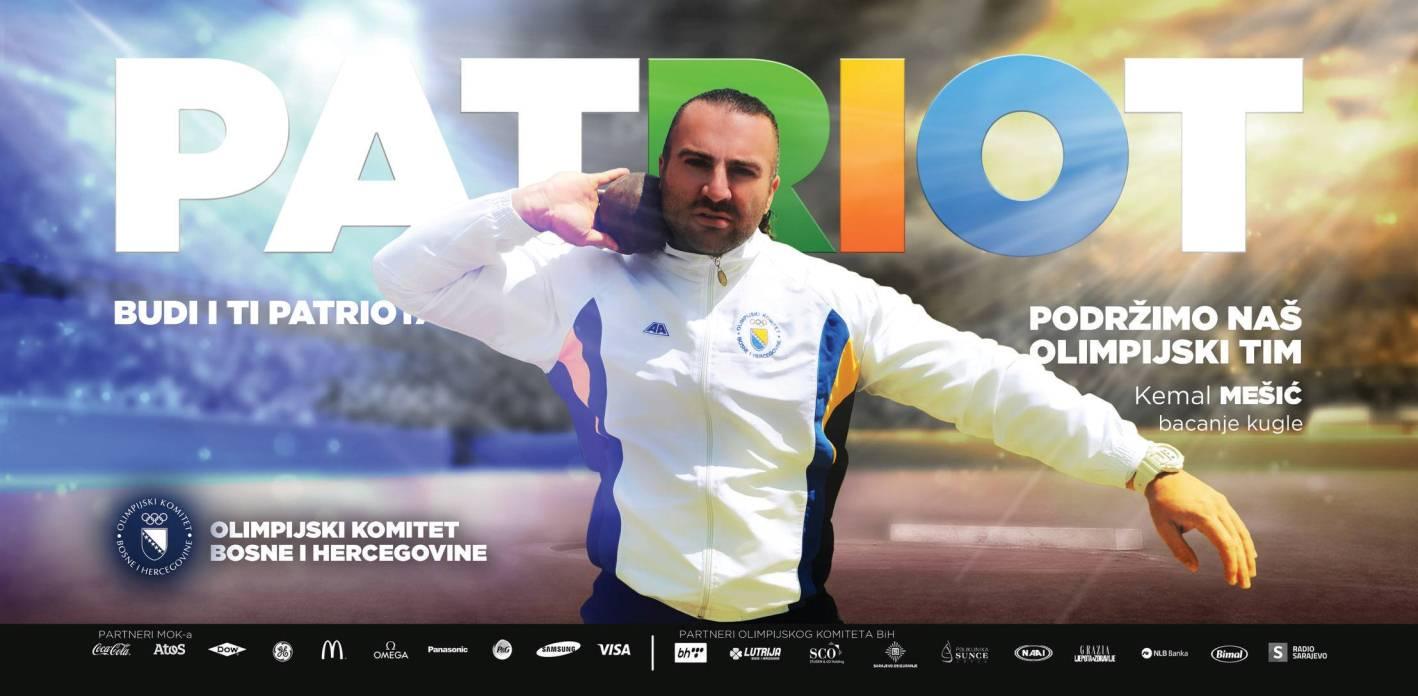 Predstavljamo Olimpijski tim Bosne i Hercegovine OI RIO 2016.