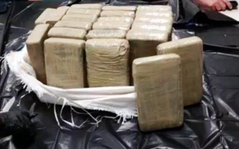Zaplijenjena rekordna količina kokaina