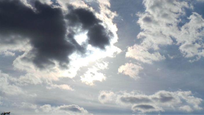 Umjereno do pretežno oblačno vrijeme