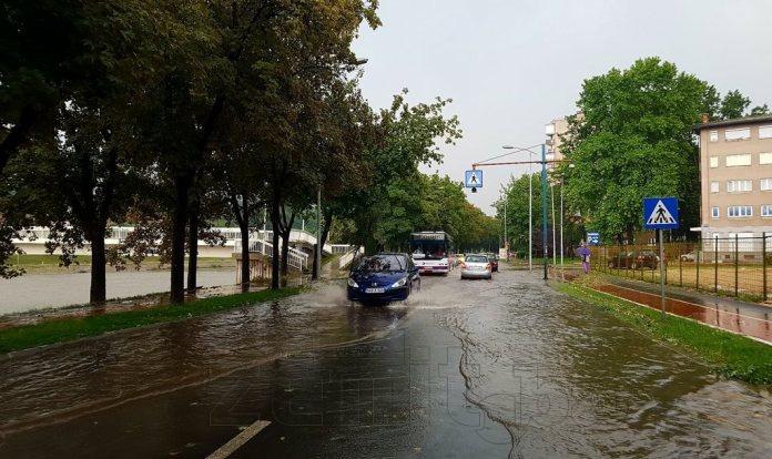 Izdato narandžasto upozorenje za Zenicu: Očekuju se obilne padavine