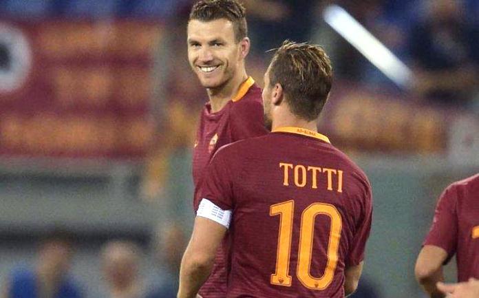 Totti za tri gola bježi Edinu Džeki