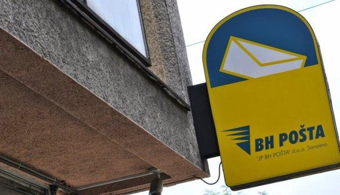 BH Pošta zabilježila pad poštanskih usluga od 18 posto