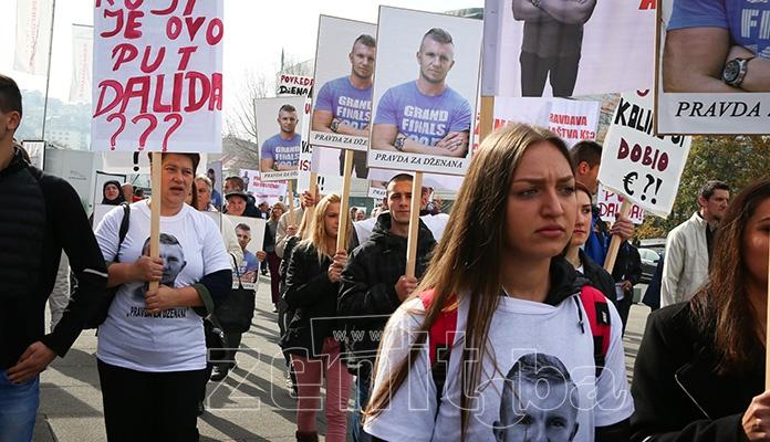 U Sarajevu protesti povodom četiri godine od smrti Dženana Memića