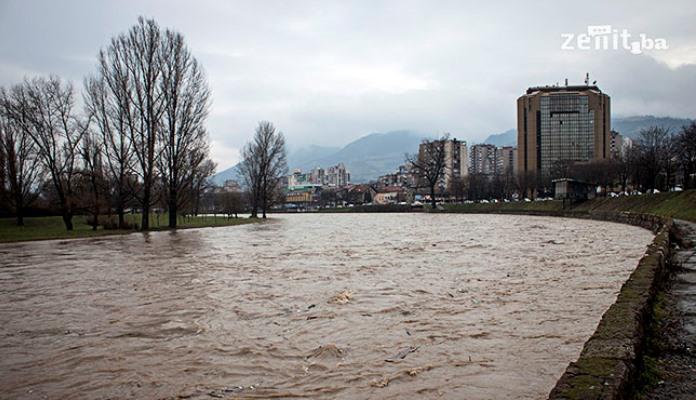 Nivo rijeka u BiH u opadanju, nema opasnosti od poplava