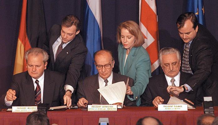 Na današnji dan prije 25 godina potpisan Dejtonski sporazum