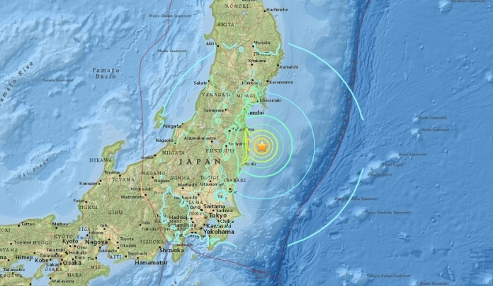 Snažan zemljotres jačine 6,3 stepena pogodio Japan