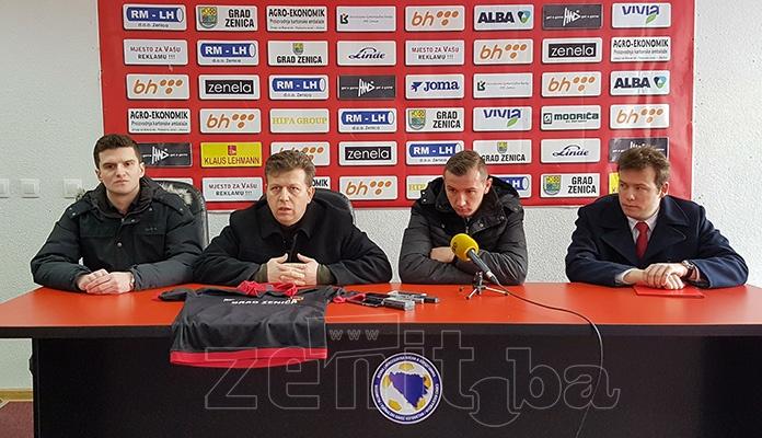 VIDEO+FOTO: NK Čelik predstavio prvo pojačanje i generalnog sekretara kluba