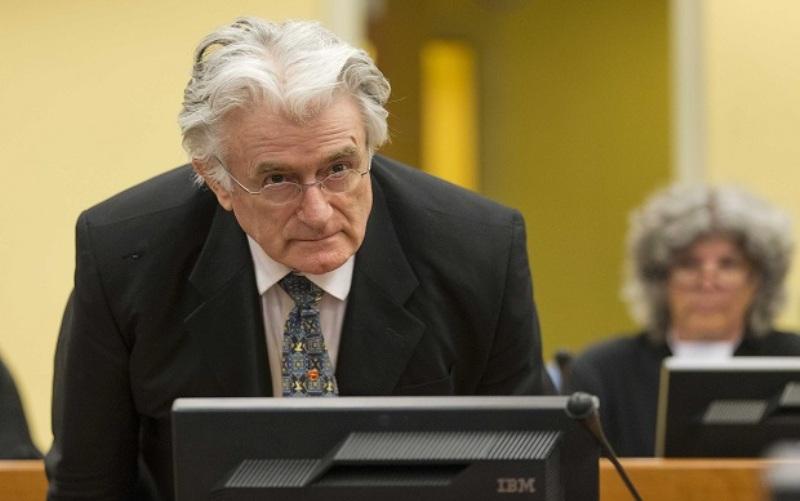 Još nema odluke gdje će ratni zločinac Karadžić izdržavati kaznu