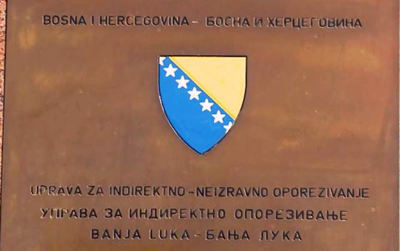 Prihodi UIO BiH u prvih pola godine veći za 5,91 posto