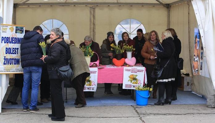 """Udruženje građana """"Život"""" organizuje akciju """"Narcisom protiv raka dojke"""""""