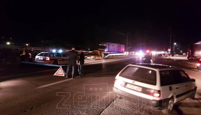 Jedna osoba poginula na regionalnom putu Zenica - Kakanj