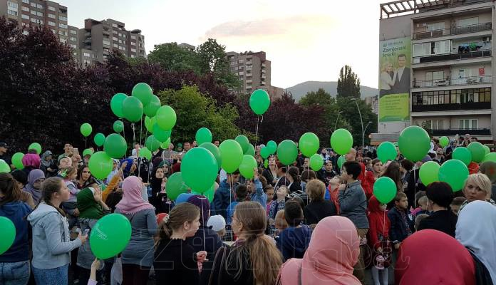 Doček mubarek mjeseca Ramazana u Zenici