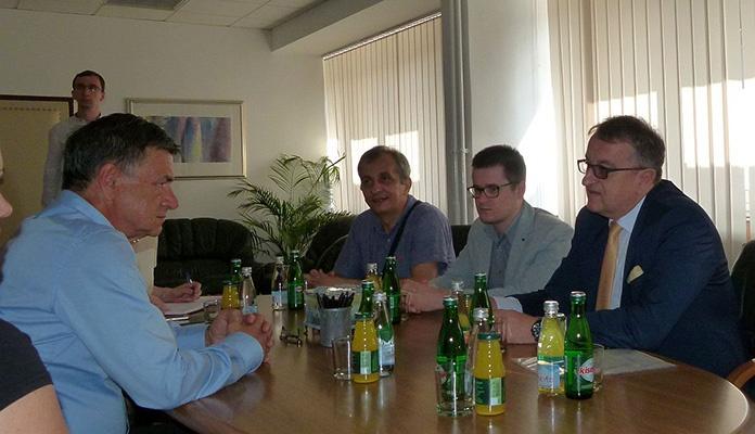 Ambasador Janjetović u službenoj posjeti Zenici