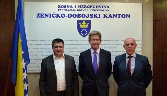 Ambasador Velike Britanije u BiH boravio u posjeti ZDK-u