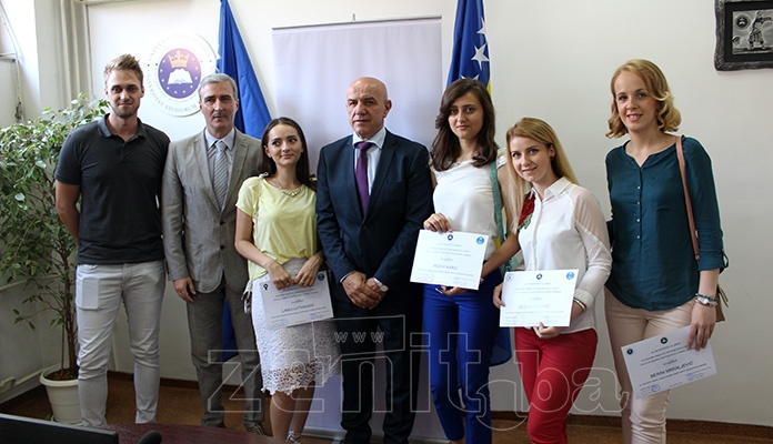 Održana promocija najboljih studenata Univerziteta u Zenici (FOTO)