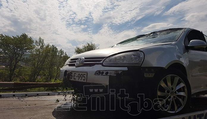 Saobraćajna nezgoda na M-17 između naselja Pečuj i Hece kod Zenice