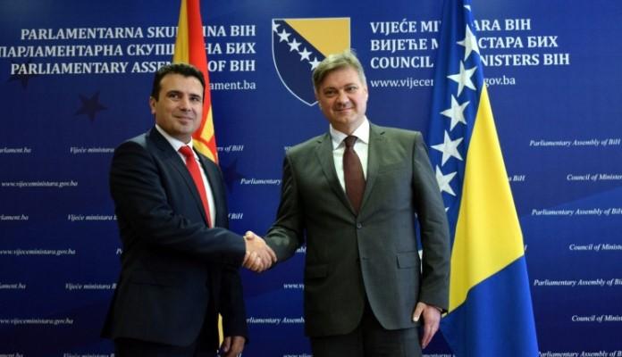 Makedonski premijer Zaev danas stiže u posjetu BiH