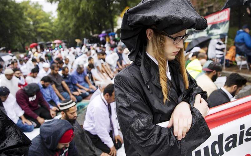 Muslimani i jevreji u Washingtonu zajedno protestovali napade na Al-Aksu