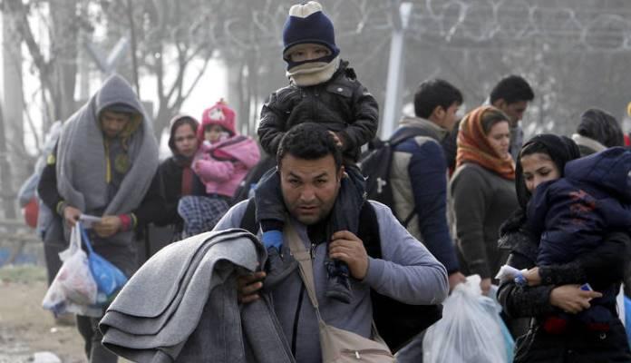 Premještanje druge grupe migranata
