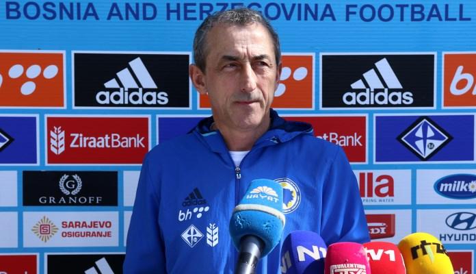 Mehmed Baždarević objavio spisak igrača za utakmice protiv Kipra i Gibraltara