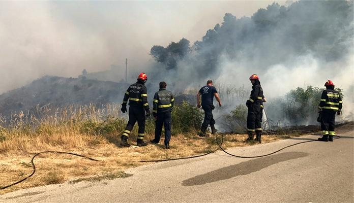 Stabilno stanje na požarištu u Neumu