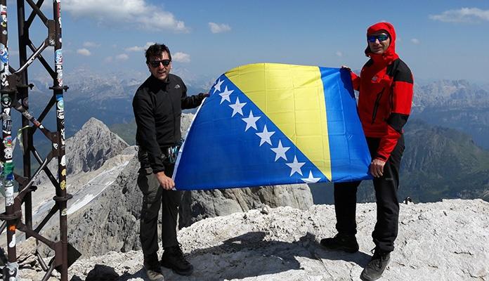 Vedraši se popeli najviši vrh Dolomita u Italiji (FOTO)