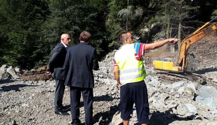 Vlada ZDK: Gradska inspekcija ponovo zaustavila radove na putu Nemila-Bistričak