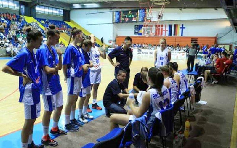 Mlade košarkašice BiH danas igraju protiv Grčke