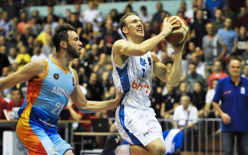 Pretkvalifikacije za Svjetsko u košarci: BiH pobijedila Armeniju