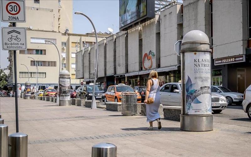 Podgorica već nekoliko dana najtopliji evropski grad s 42 stepena Celzijusa