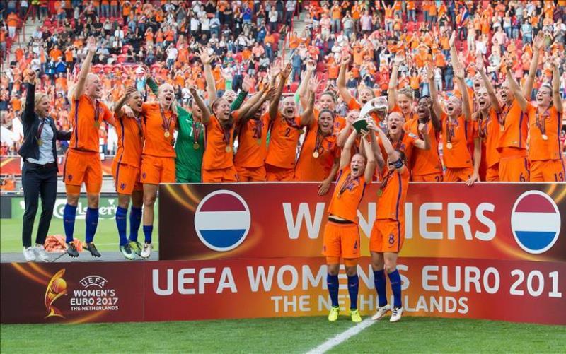 Holanđanke prvakinje Evrope u fudbalu
