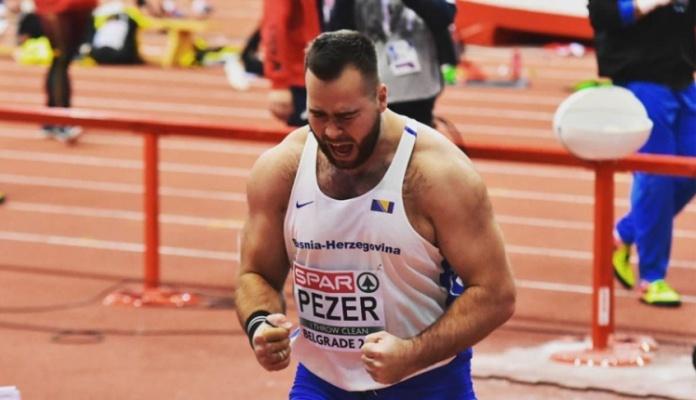 Mesud Pezer prvi na atletskom turniru u Beogradu