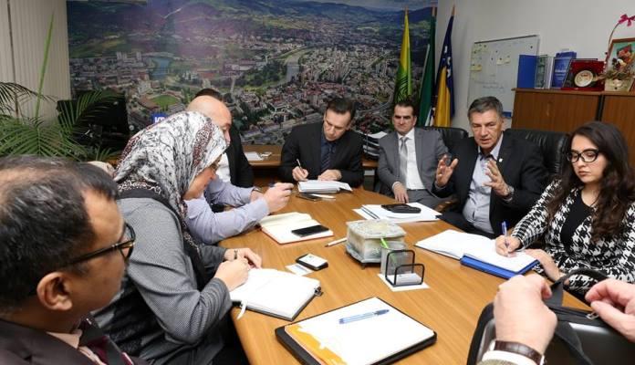 Sastanak u Gradskoj upravi zbog deponije Rača