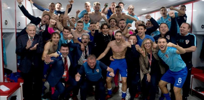 Hrvatska se plasirala na Svjetsko prvenstvo u Rusiji