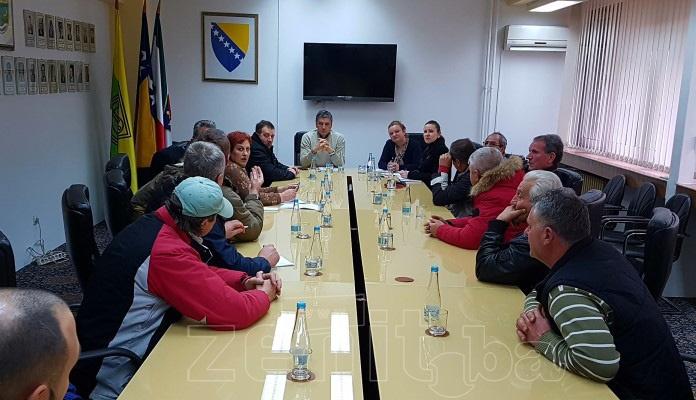 Postignut dogovor između Gradske uprave i zakupaca na pijaci u Zenici