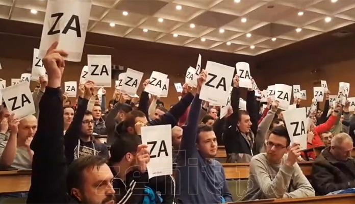 Pada odluka o investitorima, danas nastavak sjednice Skupštine NK Čelika