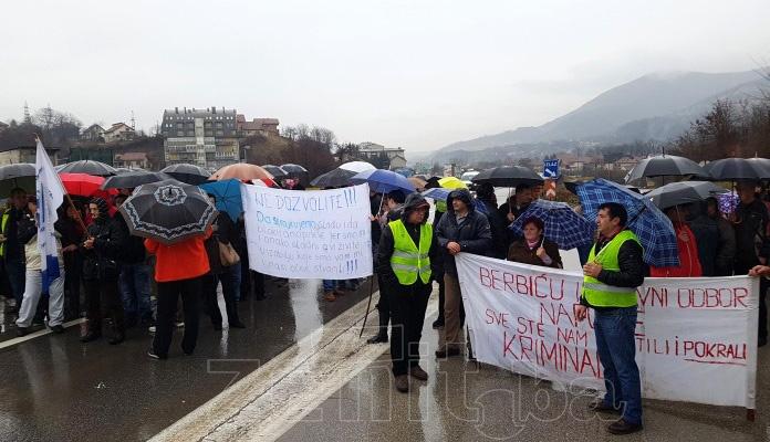 Danas novi protesti radnika Željezare Zenica (VIDEO)