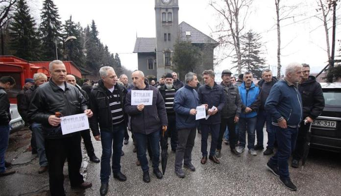 Rudari RMU Zenica stupaju u štrajk glađu