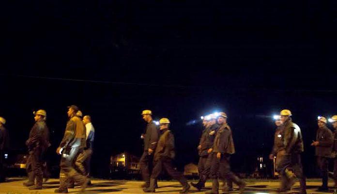 Zenički rudari nastavljaju štrajk iz solidarnosti prema kolegama