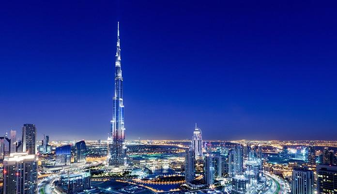 Munje pogodile najvišu zgradu na svijetu (VIDEO)