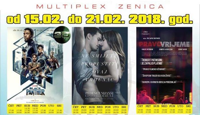 Pogledajte nove filmske naslove u Multiplexu Ekran Zenica (VIDEO)