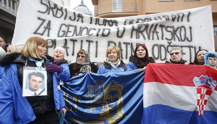 U Zagrebu protesti povodom posjete srbijanskog predsjednika