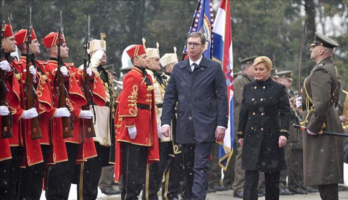 Vučić stigao u zvaničnu posjetu Hrvatskoj