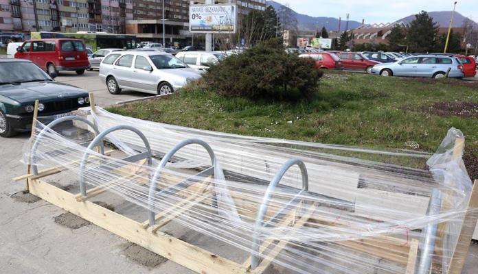 Uskoro biciklistička stajališta na pet lokacija u Zenici